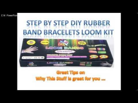 DIY Rubber Band Bracelets Loom Kit Review
