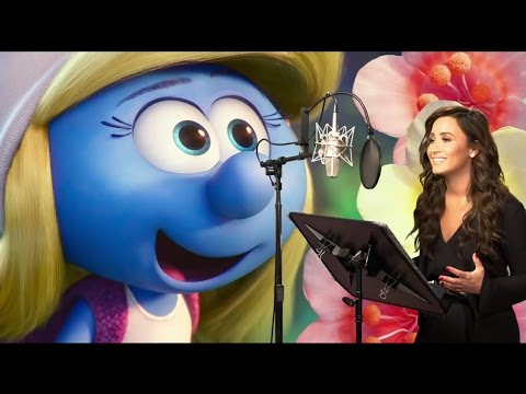 Go BEHIND THE SCENES On Smurfs The Lost Village - Voice Actors