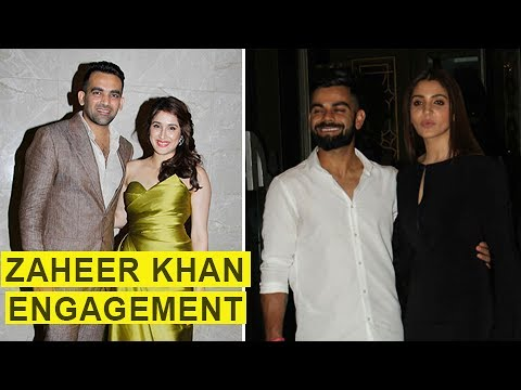 Zaheer Khan-Sagarika Ghatge's Engagement Bash FULL