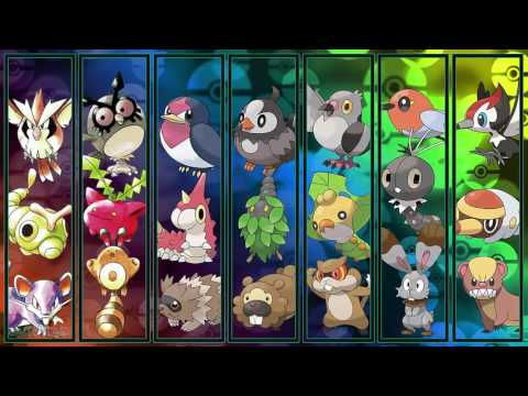All Pokémon Wild Battle Themes [GEN 1-7]