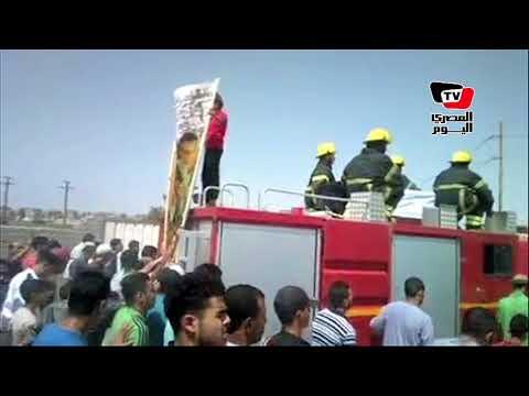 جنازة عسكرية لـ«محمود منصور» شهيد حادث العريش الإرهابي