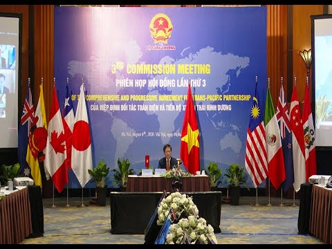 Hội nghị trực tuyến phiên họp hội đồng CPTPP lần thứ 3