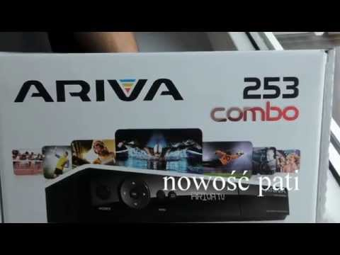 Ferguson Ariva 253 Combo DVB-S/S2 DVB-C DVB-T/T2 tuner satelitarny test unboxing multiroom