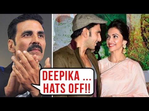 Akshay Kumar Praises Deepika Padukone For Being Wi
