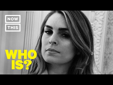 Who is Hope Hicks? Former White House Communications Director | NowThis