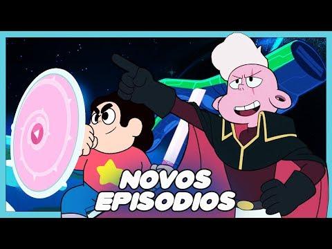 Novos Episódios de Steven universo Revelados!! O Retorno do LARS?!