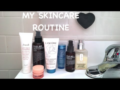 My Skincare Routine for Combination Skin 2016 + Secrets