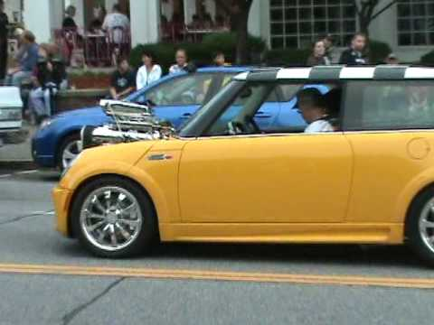 Hemi-Powered Mini Cooper