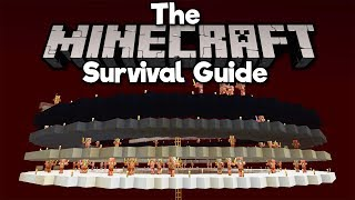 Nether Roof Gold/XP Farm, Pt.1! • The Minecraft Survival Guide (Tutorial Lets Play) [Part 196]