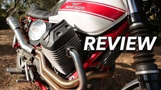 1. Moto Guzzi V7 Stornello / MotoGeo Review