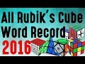 All Rubik's cube World Record 2016!