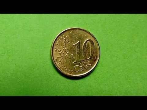 34 - Moedas - Moeda de 10 cents de Euro - Espanha