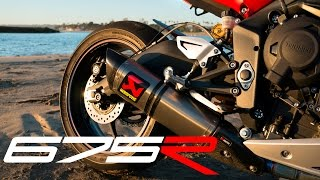 9. Triumph Daytona 675R Review
