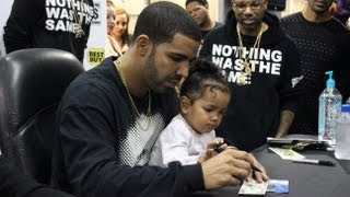 Drake Best Buy NYC Nothing Was The Same Album CD Signing 2013