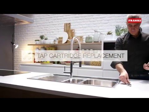 How to replace the cartridge of your Franke tap