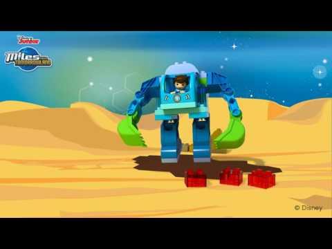 Vidéo LEGO Duplo 10825 : Le costume Exo-Flex de Miles
