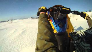 5. Ski Doo REV MXZ X-RS 800 2007 Powder Carving and Catwalk'in !