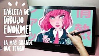 Video Dibujando con la Huion Kamvas GT-191 Review & Dibujo | Diana Díaz MP3, 3GP, MP4, WEBM, AVI, FLV September 2018