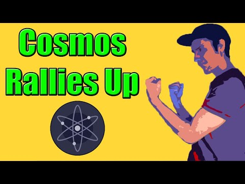 Cosmos (ATOM) Sees Gains!! Bitcoin Fighting For $40k!!