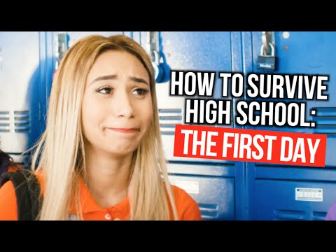 How to Survive High School : The First Day Of School | MyLifeAsEva