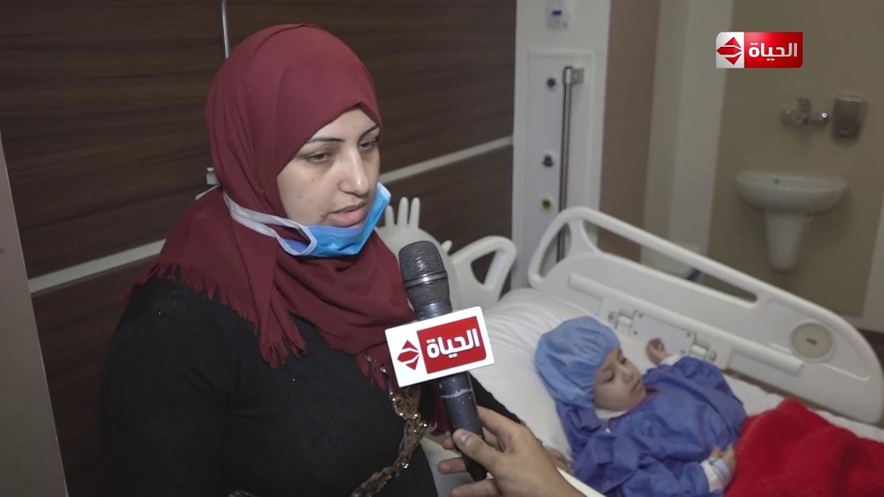 صبايا - لقاء مع والدة الطفلة لوجينا قبل وبعد إجراء العملية الجراحية بمساعدة ريهام سعيد