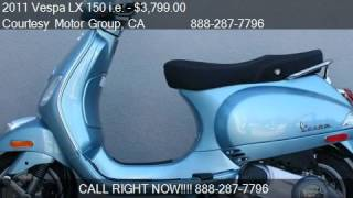 6. 2011 Vespa LX 150 i.e. Scooter - for sale in Thousand Oaks,