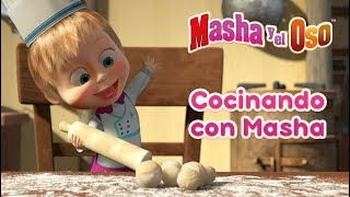 Masha y el Oso - Cocinando con Masha 🍔