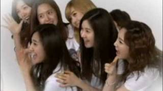 100528 SNSD La La La MV Making Film (Song for Vote 100602)