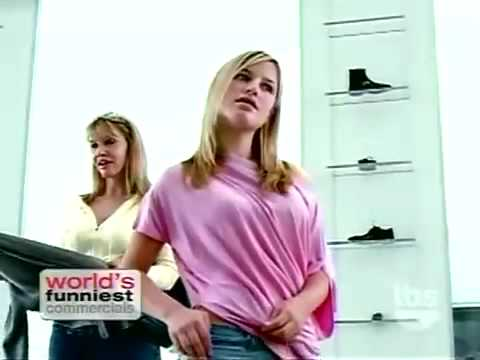 hot girls shopping -- funny commercial