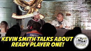 Video KEVIN SMITH TALKS ABOUT READY PLAYER ONE! MP3, 3GP, MP4, WEBM, AVI, FLV Maret 2018