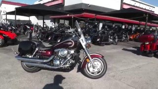 10. 013222 - 2005 Kawasaki Vulcan VN1600A - Used Motorcycle For Sale