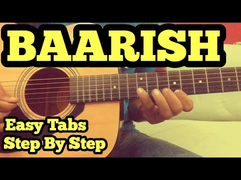 Baarish Guitar Tabs/Lead Lesson | Half Girlfriend | Arjun | Shraddha | Ash King | FuZaiL Xiddiqui