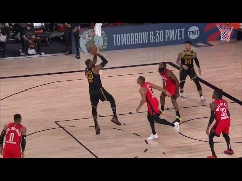 LeBron James CLUTCH SHOT To Win Game 2   Lakers vs Rockets   2020 NBA Playoffs