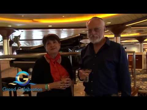 Dr. Charles Abraham comments about Kosher Food on Grand Celebration Cruise