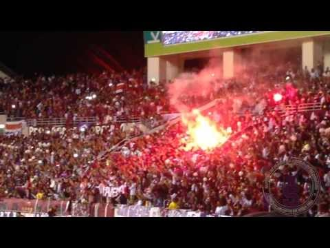 Saprissa - Boca Juniors/ Gran recibimiento - Ultra Morada - Saprissa