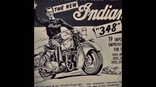 10. Vintage advertising for Indian Motorcycles