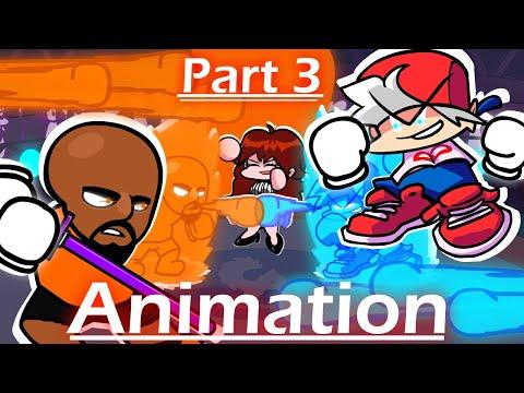 Matt vs Boyfriend Boxing Fight Part 3 (Friday Night Funkin' Animation)