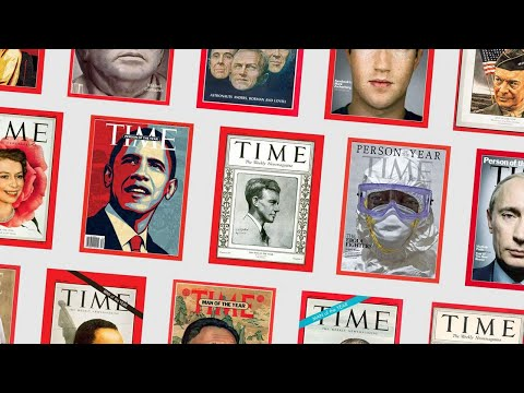 TIME Magazine - Every Person of the Year Cover Ever
