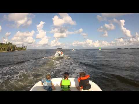 Crystal River Scalloping July 2012