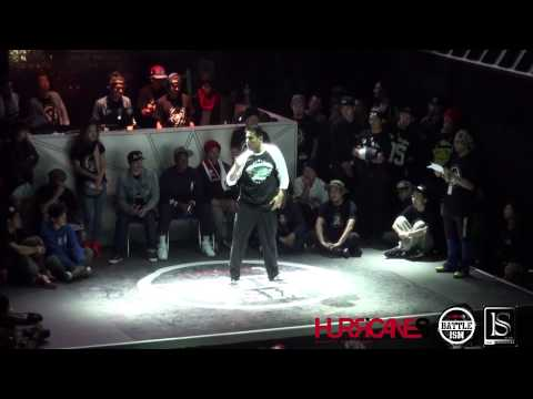 HURRICANES BATTLE-ISM 2013 TAIWAN | HUGO (U.S.A) [POPPIN JUDGE SOLO] SIDE