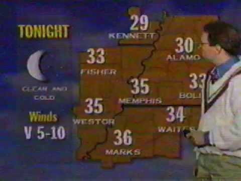 WREG-TV 's Tommy Stafford and Steve Hayslip Discuss Cold Weather