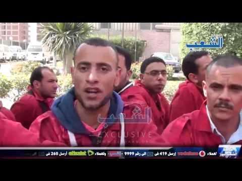 """عمال """"غاز مصر"""" للسيسي: """"نور عنيك هيضيع"""""""