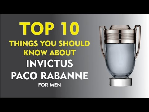 Top 10 Things About: Invictus Paco Rabanne for men