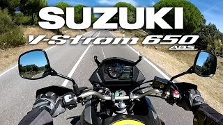 8. Suzuki V Strom 650 XT 2017 Primeras impresiones