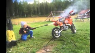 3. Linus Jakobsson FMK KTM sx-50 junior