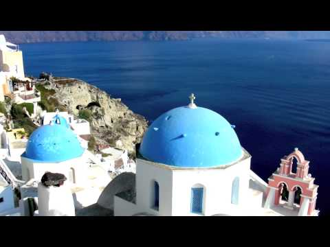 Santorini Greece the most Beautiful Island and Nude Beaches in the World  –  (HD) Hight Definition