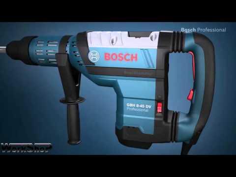 Martello demolitore/perforatore BOSCH GBH 8-45 DV professional  ( ITALIANO )