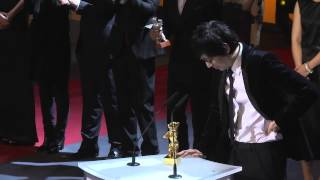 Nonton Diao Yinan winning the Golden Bear for Best Film for