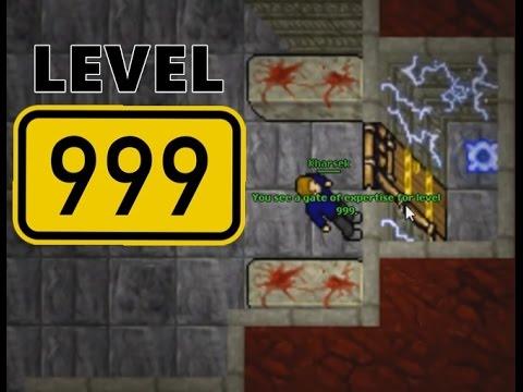 Video tibia what 39 s behind the 999 door for Door 999 tibia