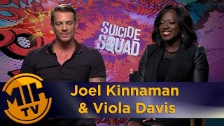 Video Joel Kinnaman & Viola Davis Interview Suicide Squad MP3, 3GP, MP4, WEBM, AVI, FLV September 2018